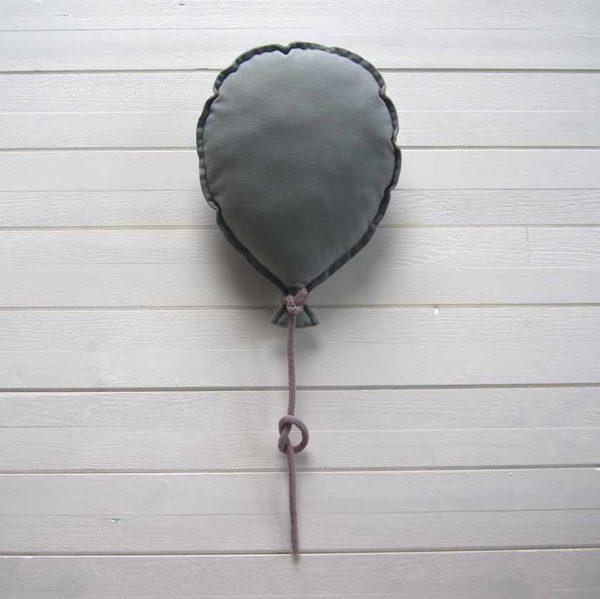 ballon mural personnalisable gris