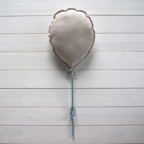 ballon mural personnalisable beige