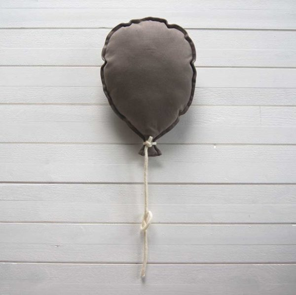 ballon mural personnalisable marron
