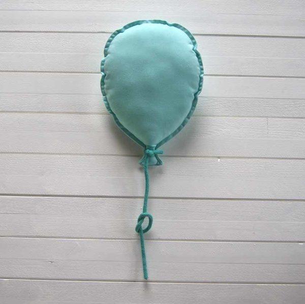 ballon mural personnalisable vert d'eau