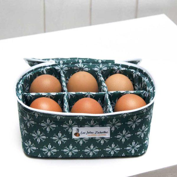 boîte à œufs pour 6 œufs