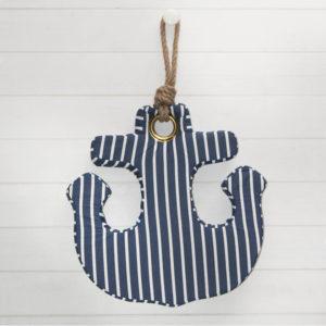 Les Jolies Zabeilles- coussin ancre- decoration fait main