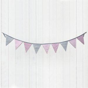 Les Jolies Zabeilles- guirlande fanions- decoration enfant