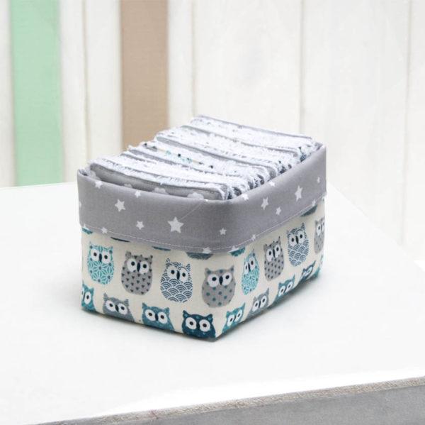 Les Jolies Zabeilles- lingettes lavables éponge- zéro déchet