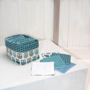 Les Jolies Zabeilles- lingettes lavables- zero dechet