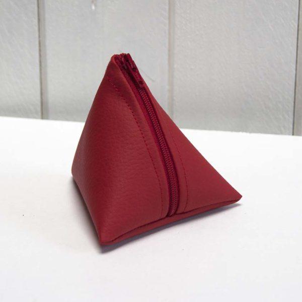 porte-monnaie berlingot rouge