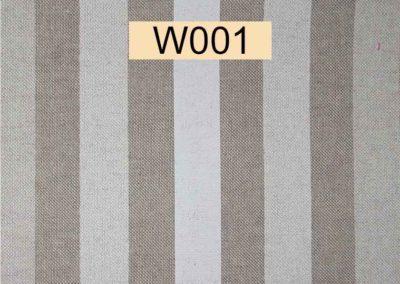 tissu lin rayé référence W001