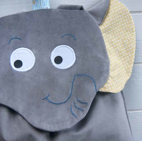sac à dos maternelle éléphant