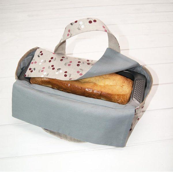 Les Jolies Zabeilles- sac a cake- zero dechet
