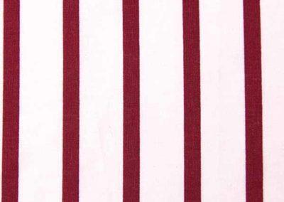 cabas blanc et rouge à rayures référence 08
