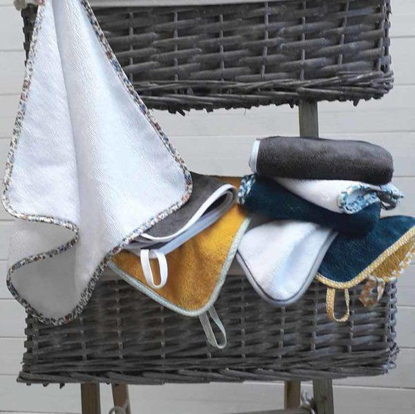 serviettes invités plusieurs couleurs disponibles